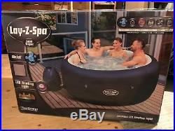 Lay-Z-Spa Saint Tropez 4-6 person inflatable jacuzzi hot tub with extras
