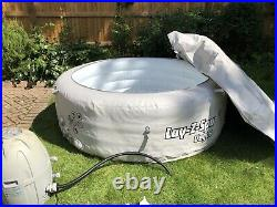 Lay-Z-Spa Vegas 140 Airjet 4-6 Person Inflatable Portable Hot Tub Jacuzzi