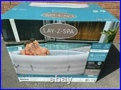 Lay Z Spa Vegas Hot Tub 4-6 Person 2021 With Freeze Shield, BRAND NEW