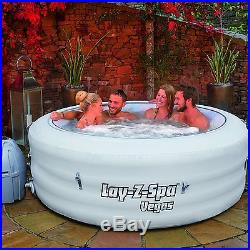 Lay Z Spa Vegas Series Portable Inflatable Hot Tub With Massage Jet System
