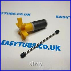 Lay Z Spa Water Pump Impeller Rattling Pump E02 Error Easytubs