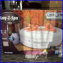 Lazy Lay-Z Spa Vegas Hot Tub Jacuzzi 6 Person New York St Moritz Helsinki Hawaii