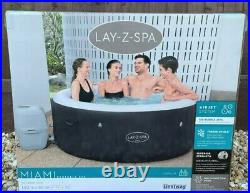 Lazy Spa Lay Z Spa Miami Hot Tub New 2021 Model Freeze Shield
