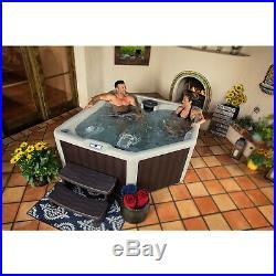 Lifesmart Spas 20 Jet Digital 4 Person Plus Plug & Play Hot Tub Spa with Cover