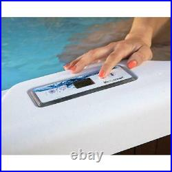 Lifesmart Spas 4 Person Jetted Plug & Play Hot Tub Spa with Cover (For Parts)