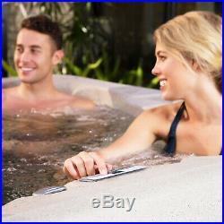 Lifesmart Spas Rock Solid Simplicity 4 Person Hot Tub Spa No Cover (Open Box)