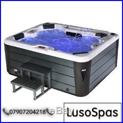 Luso Spas Luxury Spruzzo 5000s Hot Tub Spa 4 5 Person European Controls Gecko
