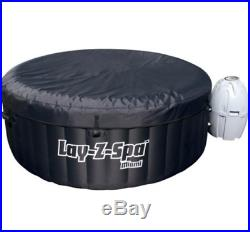 Luxury Jacuzzi Air Jet Inflatable Hot Tub For 4-6 Person Massage Spa With Cover