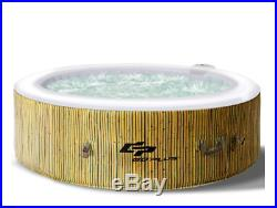 Luxury Jacuzzi Ultra Smooth Air Jet Inflatable Hot Tub For 4 Person Massage Spa