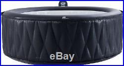 MSpa Premium Mont Blanc Hot Tub, 4 Person Inflatable Bubble Spa 71 W x 28 L