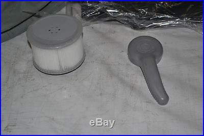 M Spa Model B-90 Apline Hot Tub, 62 by 62 by 27-Inch, Black