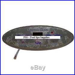 Marquis Spas Topside panel, Leisure Series, 4 Button 650-0635 (650-0490)