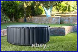 Mspa 2019 Silver Cloud 4 Bather Bubble Portable Inflatable Hot Tub Refurbished