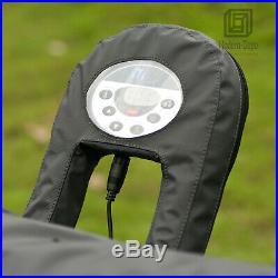 Mspa 4 Person Portable Inflatable Air Jet Spa Hot Tub Bubbles Massage 71x28