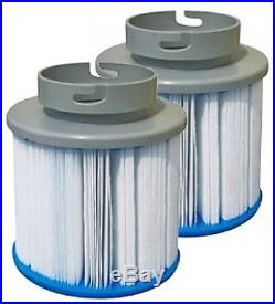Mspa Filters Twin Pack Camaro Blue Sea Elegance Hot Tub Spa Cartridges Reemay