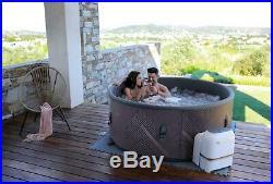 Mspa Mono 6/4 Bathers Inflatable Hot Tub Spa Jacuzzi Cover Home Holiday Family