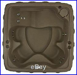NEW 5 PERSON HOT TUB with LOUNGER 19 JETS 3 COLOR OPTIONS PLUG n PLAY
