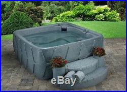 NEW 5 PERSON HOT TUB with LOUNGER 29 JETS OZONE 3 COLOR OPTIONS