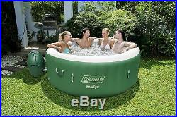 NEW Coleman 77 x 28 SaluSpa Inflatable Hot Tub Green 4-6 Person SHIPS TODAY