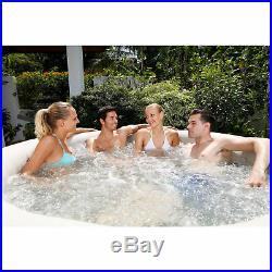 NEW Coleman SaluSpa 4-6 Person Inflatable Portable Massage Hot Tub Spa Jacuzzi