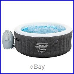 NEW Coleman SaluSpa 4 Person Inflatable Hot Tub Spa 60 Jets SHIPS TODAY
