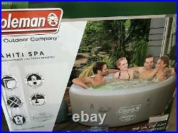 NEW Coleman SaluSpa Tahiti Air Jet Inflatable Hot Tub Spa 2-4 Person(71 x 26)