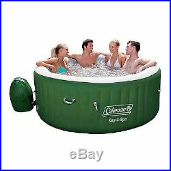 New Coleman Lay Z Spa Inflatable Hot Tub 4-6 Person Summer Deck Camping Fast