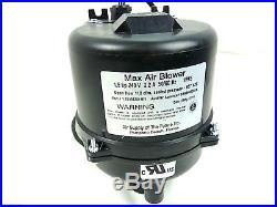New Spa Blower Max Air Spa (Pool Bath Hot Tub) Air Blower 1.5hp 900w