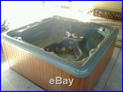 Nice Jacuzzi Hot Tub Spa 18 jet INDOOR KEPT Energy Smart mint condition 6 person