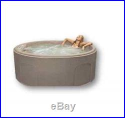 Outdoor Hot Tub Spa 4 Person 12-Jets Lights Patio Deck Heated Massage Bubble New