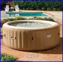 Outdoor Inflatable Jacuzzi Hot Tub Set Portable Spa Massage Pool Heated 4 Person