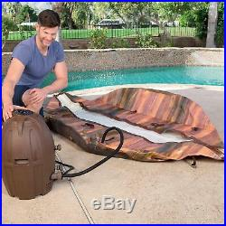 Outdoor Portable Inflatable Spa Hot Tub Jacuzzi Massage Bubble Air Jet 7-Person