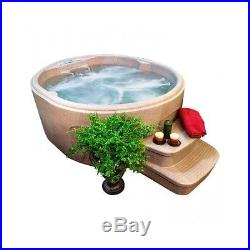 Outdoor Spa Hot Tub Patio Jacuzzi 12 Jets Deck Heated Massage Garden 4 Person