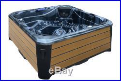 Outdoor Whirlpool Hot Tub Gartenpool SPA Balboa USA WIFI 93 Düsen! Revolution