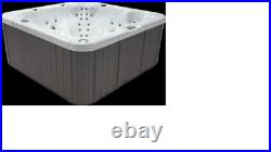 PCS4800 8 Person Outdoor Whirlpool Spa Hot Tub with 46 Therapy Jets