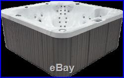 PCS7000 6 Person Outdoor Whirlpool Lounger Spa Hot Tub with 46 Therapy Jets
