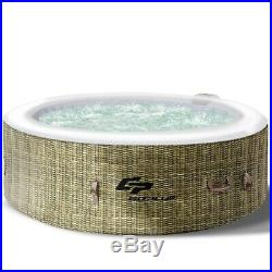 Portable Hot Tub 4 Person Inflatable Pool Outdoor Spa Hottub Massage Tub w Cover