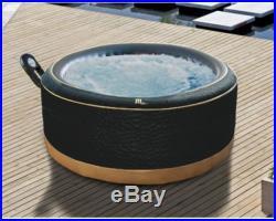 Portable Hot Tub 4 Person Jet Inflatable Bubble Spa Jacuzzi Massage Home Bath