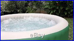 Portable Hot Tub Inflatable Outdoor Spa Rapid Heating System Insulated Cover