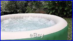 Portable Hot Tub Spa For 4-6 People Massage Inflatable Bubble Heated Patio Jet