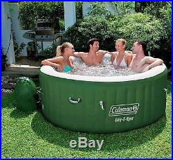 Portable Hot Tub Spa Inflatable Tub Lay Z Pumper Heated Water Bubble Massage NEW
