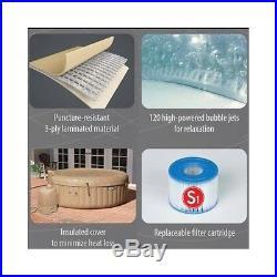 Portable Inflatable Hot Tub Spa Pump Cover Intex Jacuzzi Massage Bubble Pure New