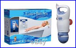 Portable Jet Spa Turbo Bath Bathtub Whirlpool Stream Luxury Hot Tub Jacuzzi Soft