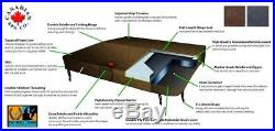 Replacement Hot Tub Cover 86 x 86 in Brown High Specification
