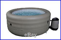 Rio Grande Hot Tub Extra Deep 4 Person Inflatable Portable Spa