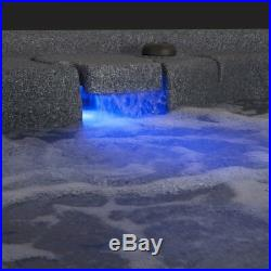 SALE NEW 2-PERSON HOT TUB 20 JETS PLUG n PLAY WATERFALL 3 COLORS