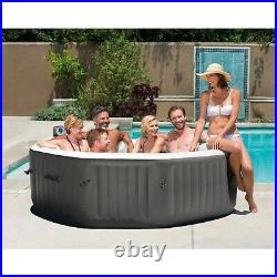 SEALED Intex 140 Bubble Jets 6-Person Octagonal Portable Inflatable Hot Tub Spa