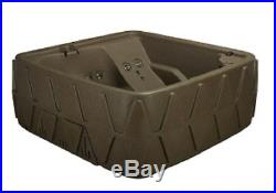 S A L E 5 PERSON HOT TUB w LOUNGER- 29 JETS-OZONE SYSTEM BROWNSTONE