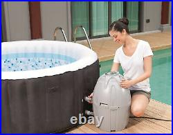 SaluSpa Miami Inflatable Hot Tub 4 Person AirJet Spa Bestway Superior Strength