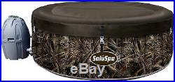 SaluSpa Realtree MAX-5 AirJet 4-Person Portable Inflatable Hot Tub Spa New